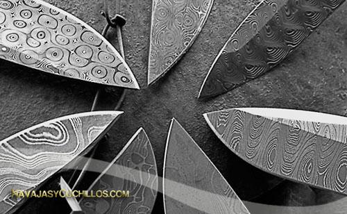 Acero damasco navajas y cuchillos - Cuchillo de cocina acero damasco ...